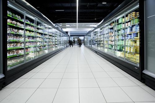 rayon frais supermarché